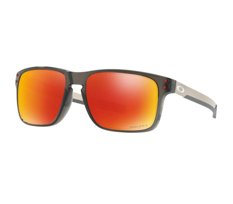 Oakley Holbrook Mix Grey Smoke w/ Prizm Ruby Polarized Lens