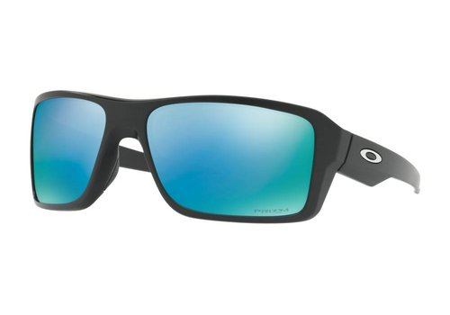 Oakley Oakley Double Edge Matte Black w/ Prizm Deep Water Polarized Lens