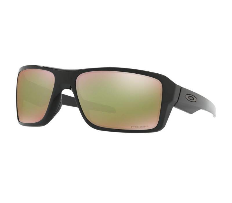 Oakley Double Edge Polished Black w/ Prizm Shallow Water Polarized Lens