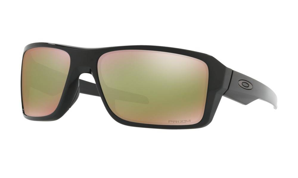 1bdb4e47bb9 Oakley Double Edge Polished Black w  Prizm Shallow Water Polarized Lens