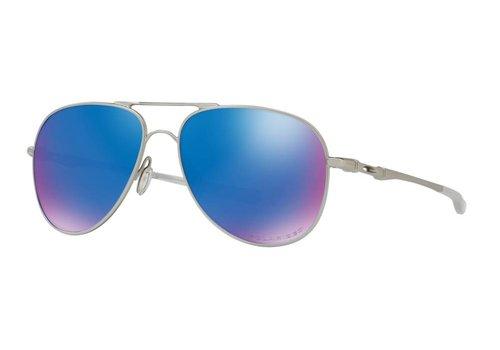 Oakley Oakley Elmont M Satin Chrome w/ Prizm Sapphire Iridium Polarized Lens