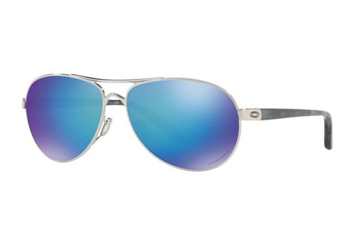 d2060a35b3 Oakley Feedback Polished Chrome w  Prizm Sapphire Polarized Lens