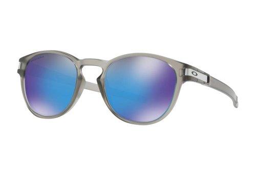 Oakley Oakley Latch Matte Grey Ink w/ Prizm Sapphire Polarized Lens