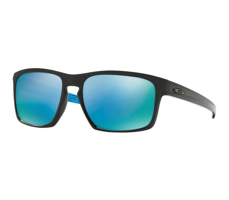 Oakley Sliver Matte Black w/ Prizm Black Polarized Lens