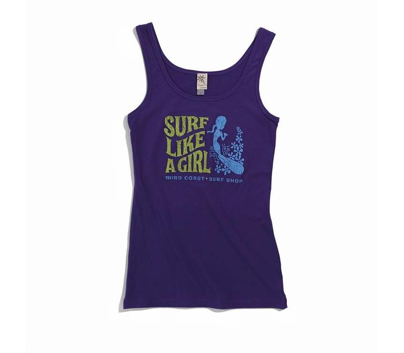 Third Coast Surf Like A Girl Tank