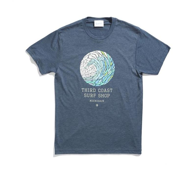 Third Coast Wave Mosaic Tee
