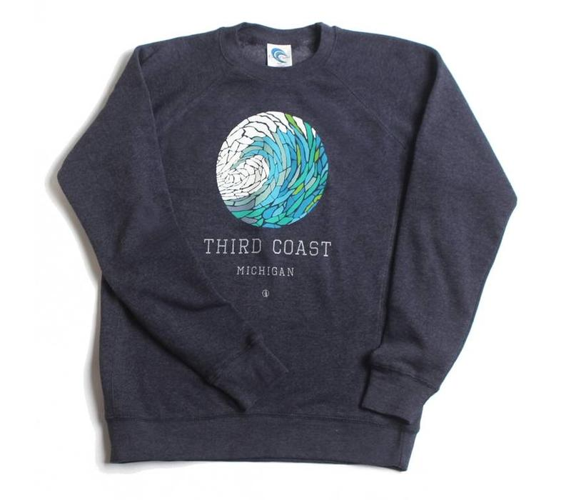 Third Coast Wave Mosaic Crew Sweater