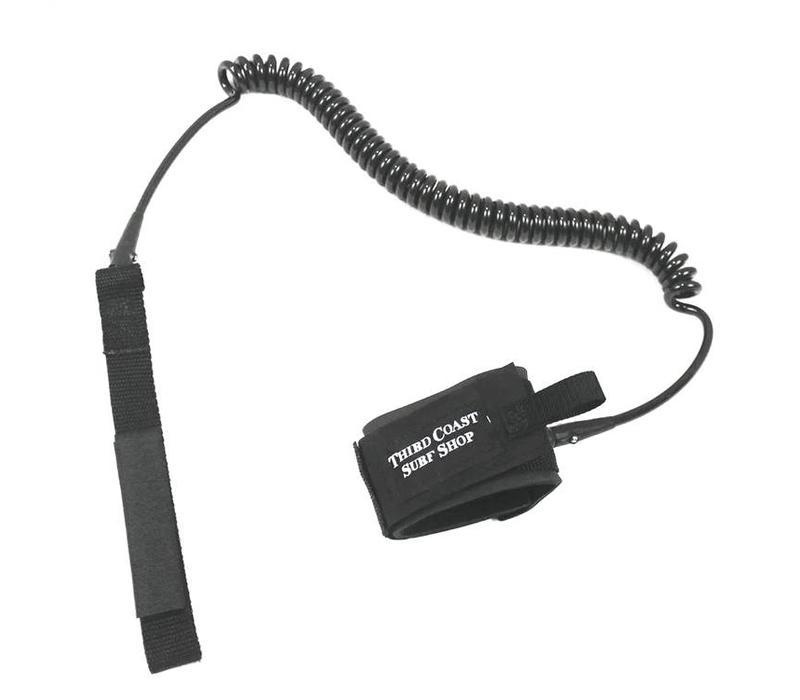 TCSS 10' Double Swivel Coil Leash