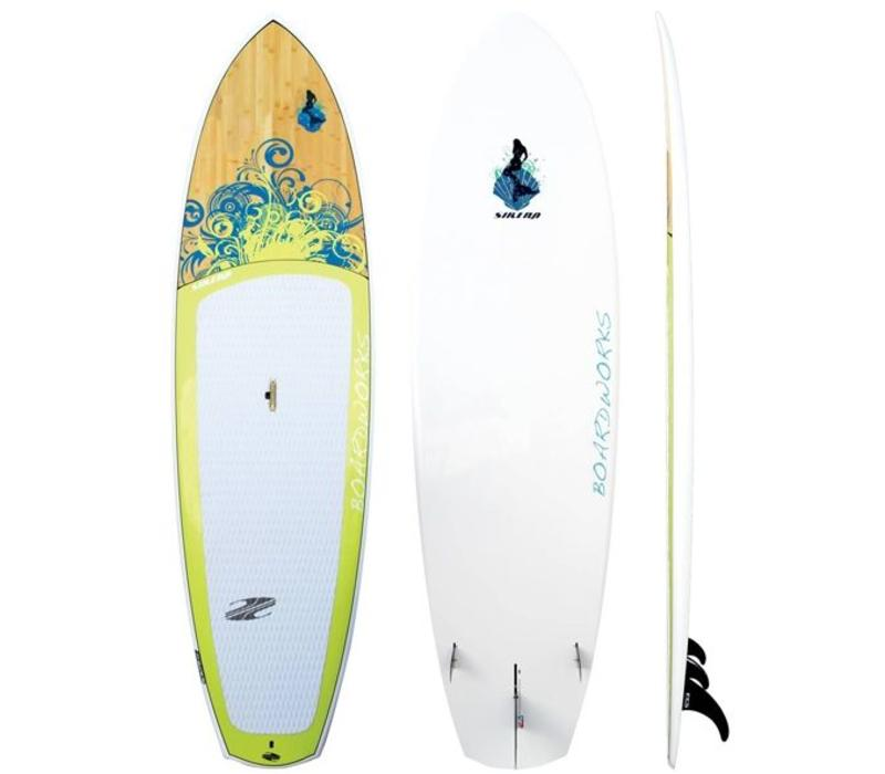 Boardworks 10'4 Sirena Grey and Yellow
