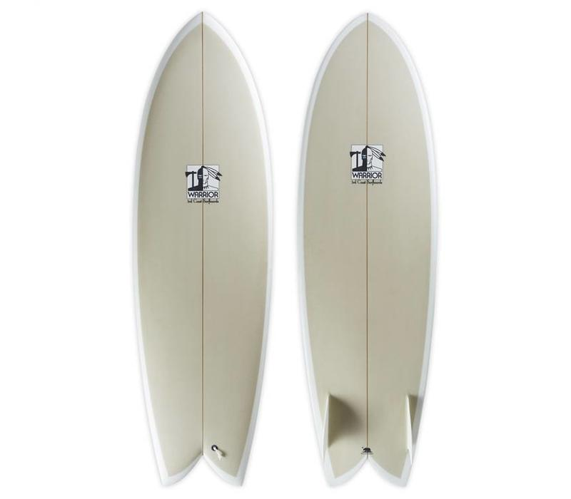 6'2 TCSS Warrior Twin Fin