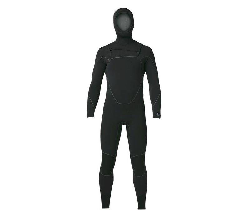 M's R5 Yulex FZ Hooded Full Suit Black MS