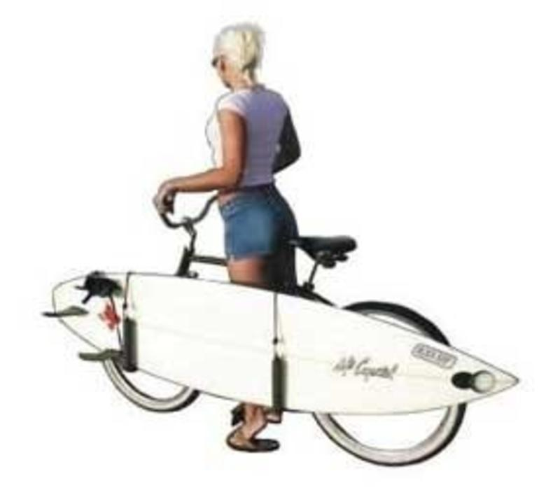 Side Ride Surfboard Bike Rack