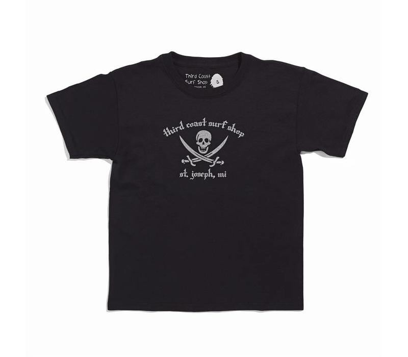 Third Coast Pirate Logo Youth Tee
