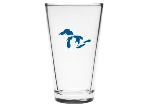 Great Lakes Pint Glass