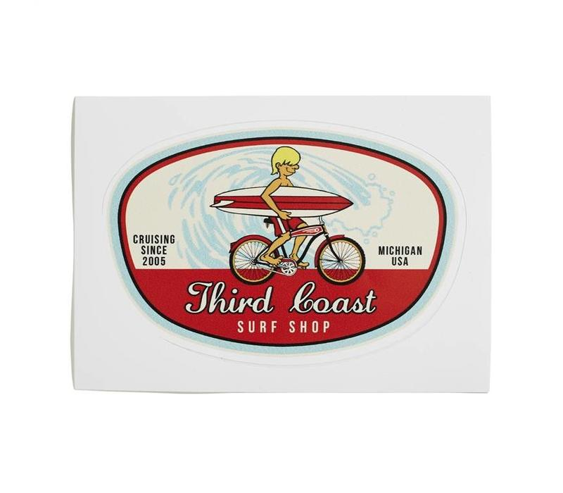 Third Coast Surf Bike Sticker
