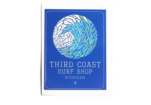 Third Coast TCSS Wave Mosaic Sticker
