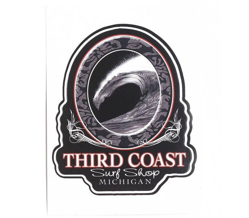 Third Coast Graphite Barrel Sticker