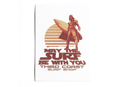 Third Coast Third Coast Vader Surfs Sticker