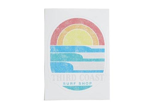 Third Coast Third Coast Surf 'n Sun Sticker