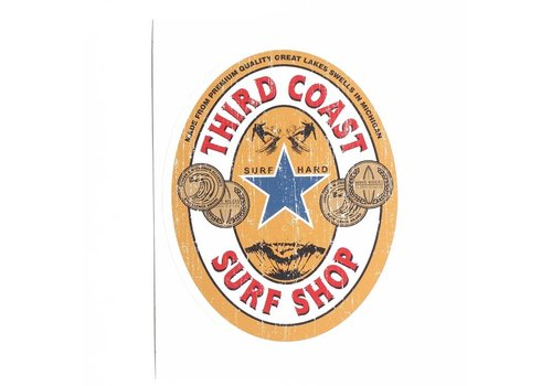 Third Coast Third Coast Imported Ale Sticker