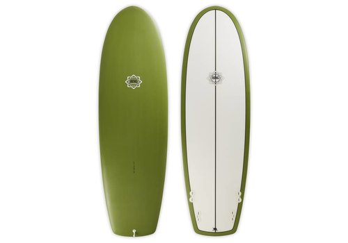 Bing Surfboards 6'2 Bing Puck Olive Opaque