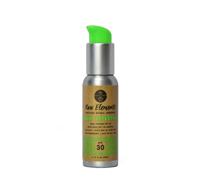 Raw Elements Daily Lifestyle SPF 30 Serum Pump