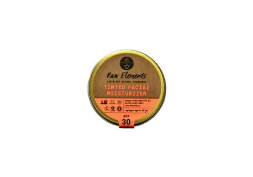Raw Elements Raw Elements Tinted Facial Moisturizer SPF 30 1.8oz