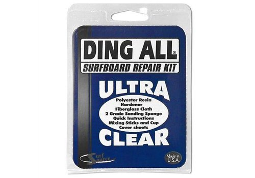 Ding All Standard Polyester Repair Kit