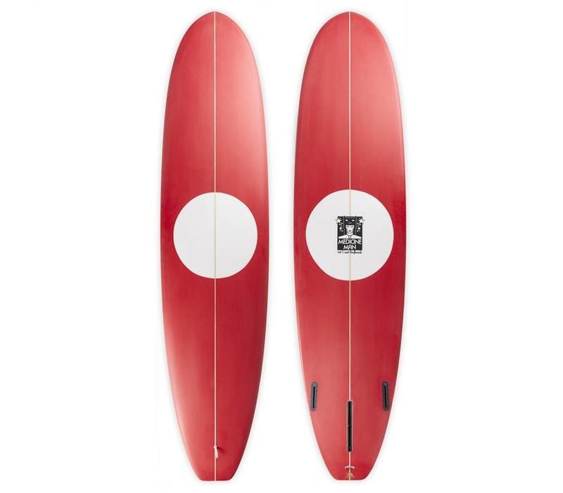 3rd Coast Surboards 8'2 Medicine Man V5 Red