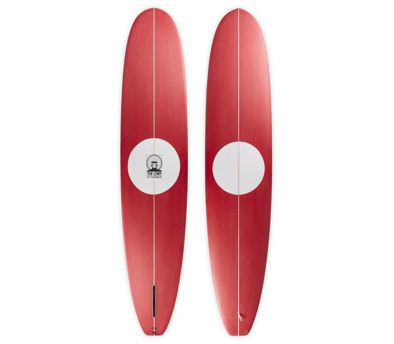 3rd Coast Surfboards 9'6 Chief V5 Red