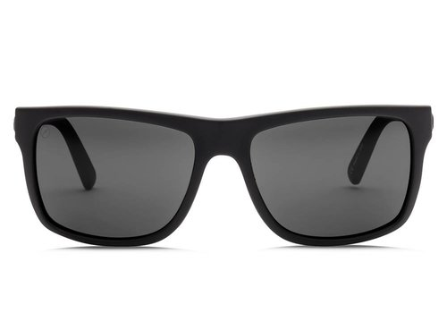 Electric Sunglasses Electric Swingarm Matte Black OHM Polarized Grey