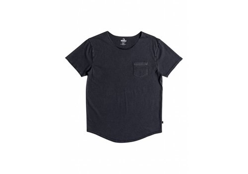 Quiksilver Quiksilver Surf Wash Raw Pocket Tee Blue Nights