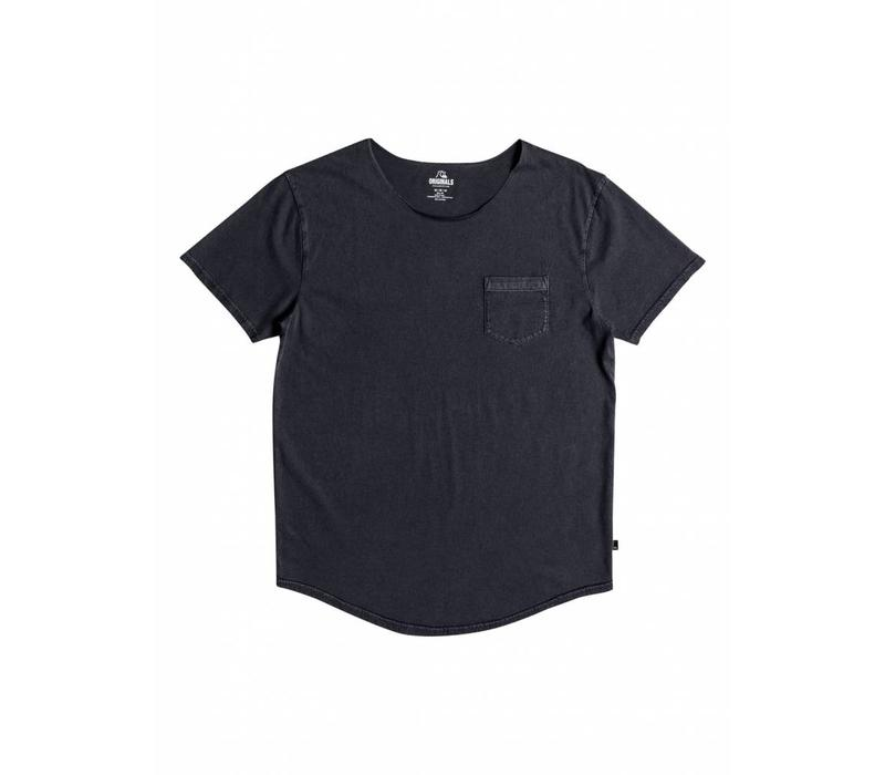 Quiksilver Surf Wash Raw Pocket Tee Blue Nights