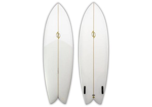 Bing Surfboards Bing 6'0 Sunfish Rasta Clear