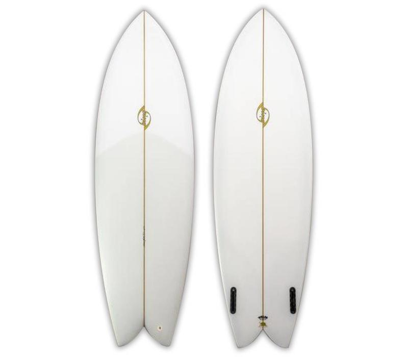 Bing 6'4 Sunfish Rasta Clear