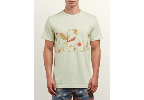 Volcom Volcom Sea-Weed Pocket Tee Mist Green