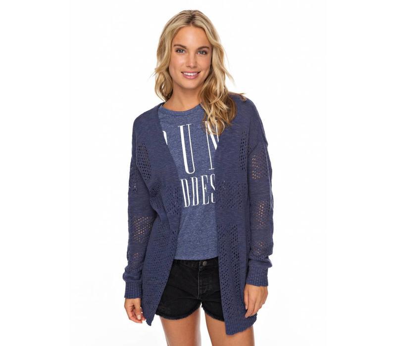 Roxy Summer Bliss Cardigan Crown Blue