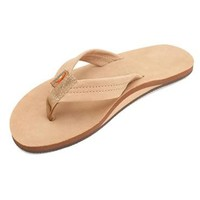 Rainbow Sierra Brown Premier Leather Single Layer Arch Ladies