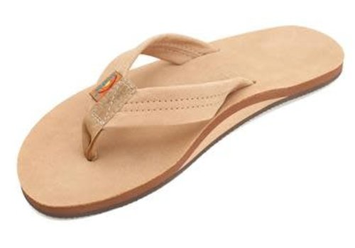 Rainbow Sandals Rainbow Sierra Brown Premier Leather Single Layer Arch Ladies