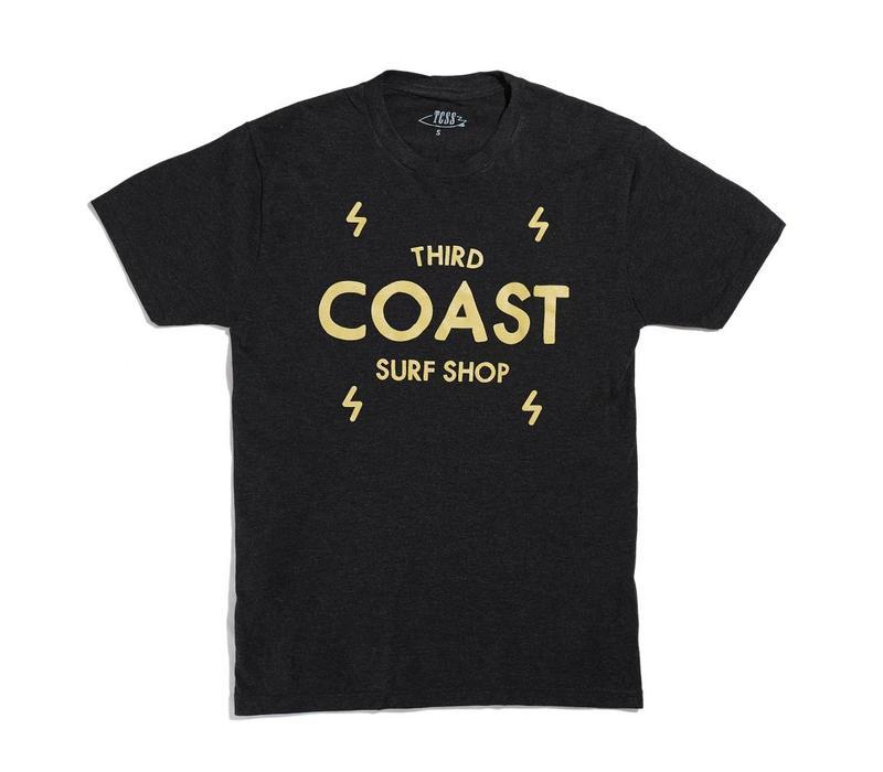 Third Coast Bolts Logo Tee Vintage Black