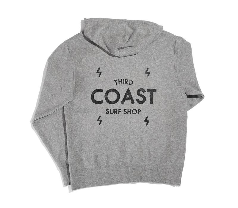 Third Coast Bolts Logo Zip Hoody