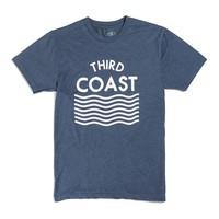 Third Coast Waves Logo Tee Blue Heather