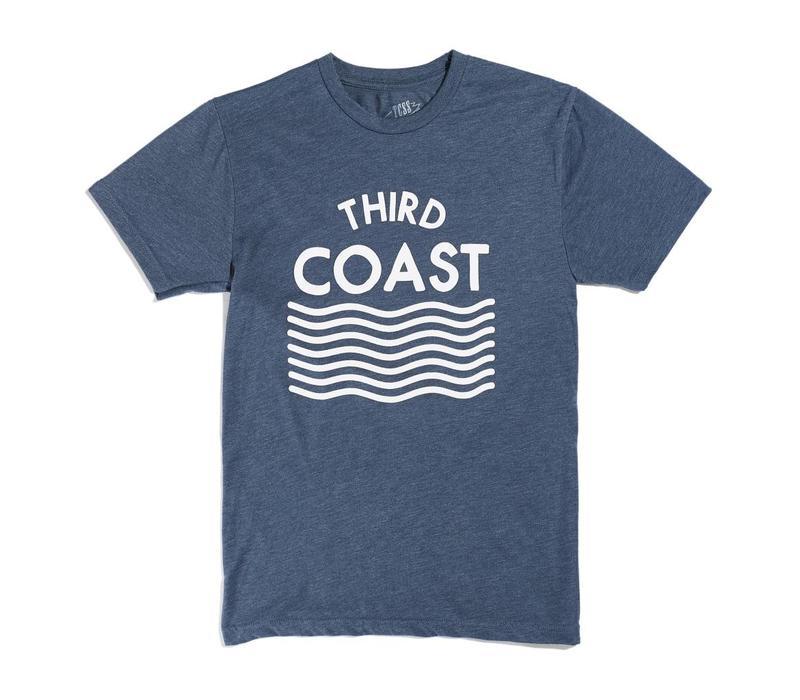 Third Coast Waves Logo St Joe Tee