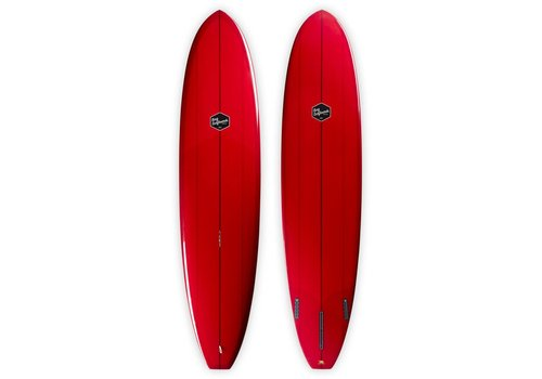 Bing Surfboards Bing 8'0 Seeker Red Tint
