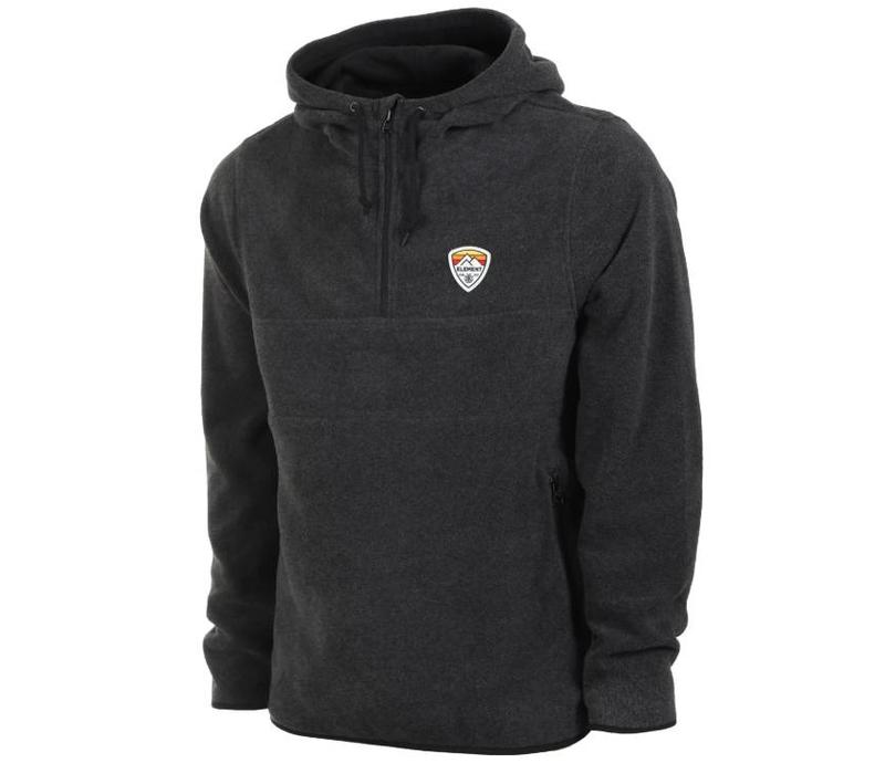 Element Taylor Polar Fleece Hoody India Ink