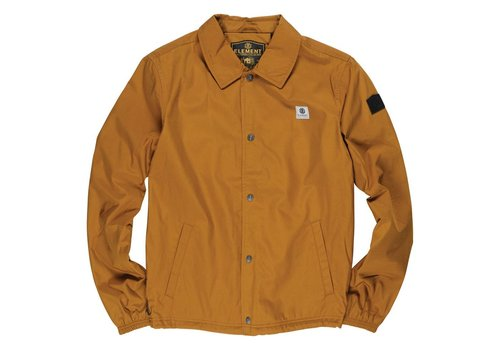 Element Element Murray Coach Jacket Golden Brown