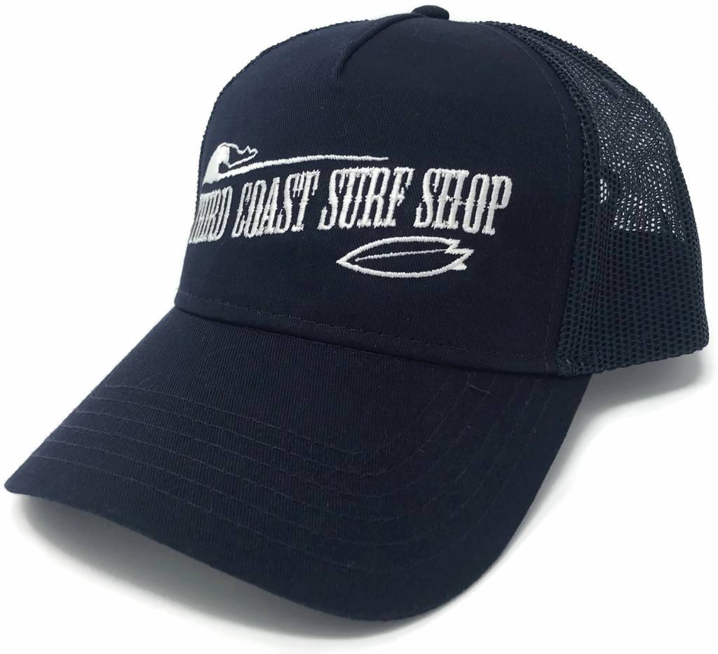 TCSS Old Fashioned Logo Mesh Back Hat Navy - Third Coast Surf Shop 1dcc6f8275f