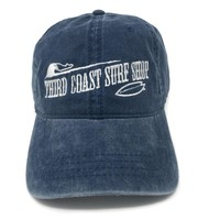TCSS Old Fashioned Logo Washed Hat Navy
