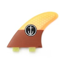 Captain Fin CF Large Twin Tab Orange