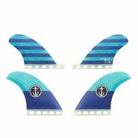 Captain Fin CF Quad Single Tab Blue